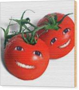 Sweet Tomatoes Wood Print
