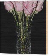 Sweetheart Roses Wood Print