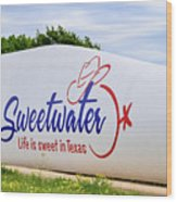Sweetwater Sign  Wood Print