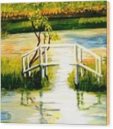 Sweetwater Spring Texas Wood Print