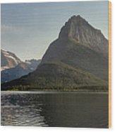Swift Current Panorama Wood Print