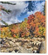 Swift River New Hampshire Wood Print