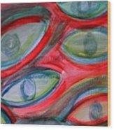 Swimming eyes Wood Print