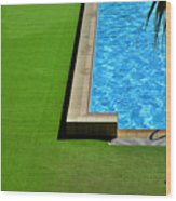 Swimming Pool Wood Print