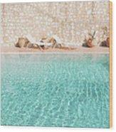 Swimming Pool V Wood Print