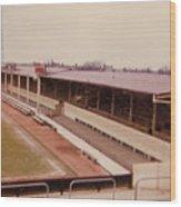 Swindon - County Ground - Main Stand 1 - 1970 Wood Print