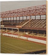 Swindon - County Ground - Main Stand 2 - 1970s Wood Print
