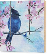 Swing Into Spring Wood Print