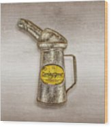 Swingspout Oil Canister Wood Print