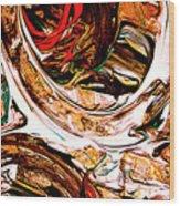 Swirl  2 Wood Print