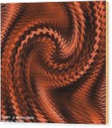 Swirl Creativiana Catus 1 No.2 V A Wood Print