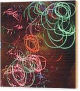 Swirls 2 Wood Print