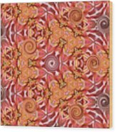 Swirls Abstract Wood Print