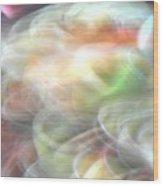Swirlwing Light Plasma - Abstract Wood Print