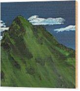 Swiss Alp Wood Print