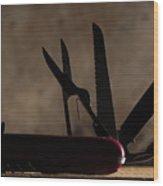 Swiss Army Wood Print