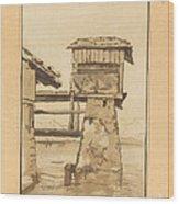 Swiss Peasant House Wood Print