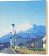 Swiss Road Wood Print