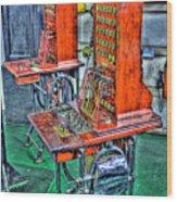 Switchers Wood Print