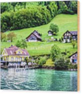Switzerland  Wood Print