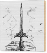 Sword Of The Spirit Wood Print