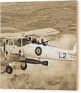 Swordfish Aircraft Wood Print