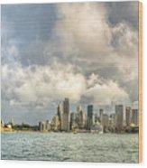 Sydney After A Rainstorm Wood Print