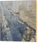 Sydney, George St. In 1930 Wood Print