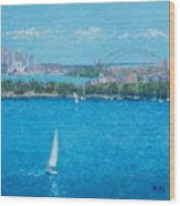 Sydney Harbour And The Opera House Vacation Wood Print