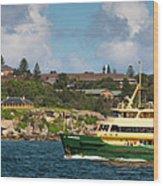 Sydney Harbour Panorama Wood Print