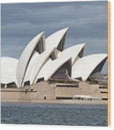 Sydney Opera House Panorama Wood Print