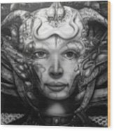 Syfy- Geiger Li Wood Print