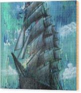 Syfy- Ship Wood Print