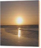 Sylt Sunset 6 Wood Print