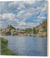 Sylvan Lake South Dakota Wood Print