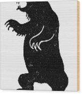 Symbol: Bear Wood Print