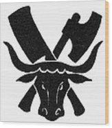 Symbol: Butcher Wood Print