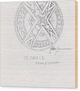Symbol Finished Wood Print