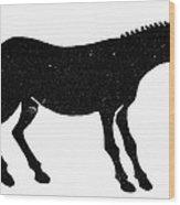 Symbol: Mule Wood Print