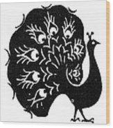 Symbol: Peacock Wood Print