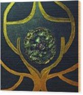Symbol Wood Print