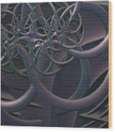Symbolic Energy Wood Print