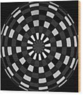 Symbolic Kay  Wood Print