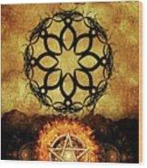 Symbols Of The Occult Wood Print