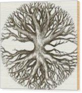 Symetree Wood Print