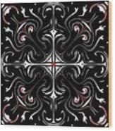 Symmetry 13 Wood Print