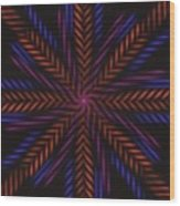 Symmetry 15 Wood Print