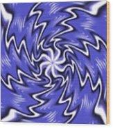 Symmetry 19 Wood Print