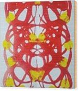 Symmetry 21 Wood Print
