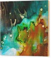 Symphony - Six Wood Print by Mudrow S